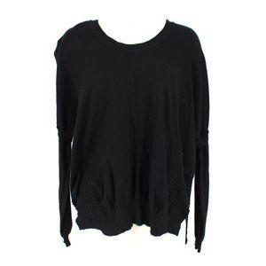 PLANET Lauren G Knit Top Long Sleeve Sweater OSFA